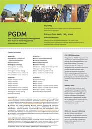 PGDM-Prospectus