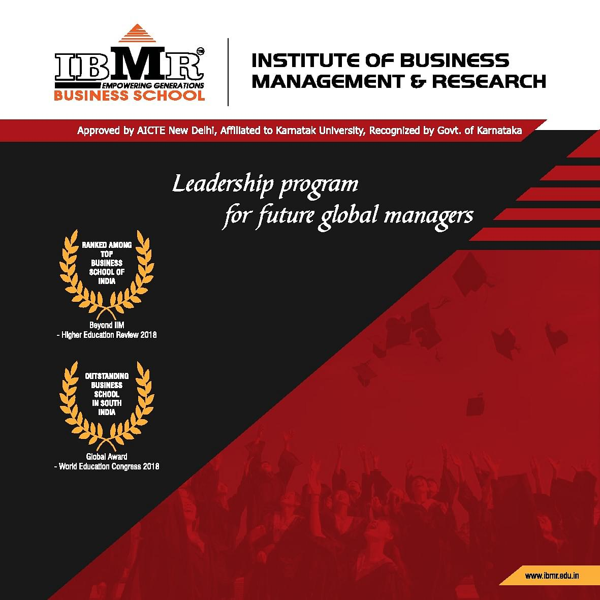 IBMR Hubli Course and Fee, Admission