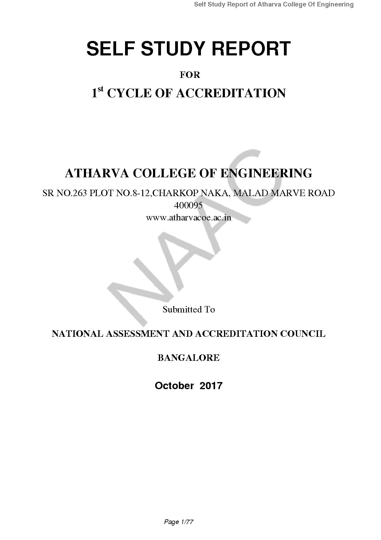 Atharva College of Engineering, Mumbai - Admissions, Contact