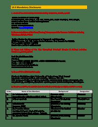 Mandatory Disclosure_2019