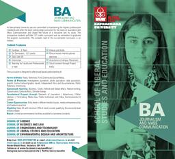 BA-Journalism & Mass Comm