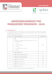 Handout Admission