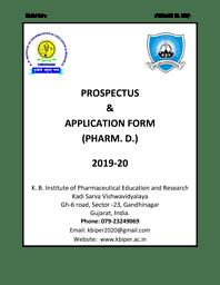 Pharm D Brochure