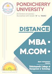Distance Education Brochure