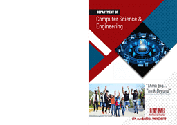 Computer Science Engineering Brochure