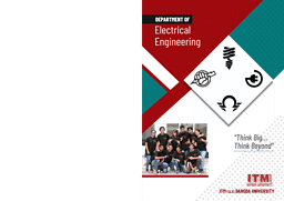 Electrical Engineering Brochure