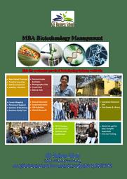 Information Brochure (Biotech Management)