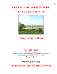 College of Agriculture (COA)
