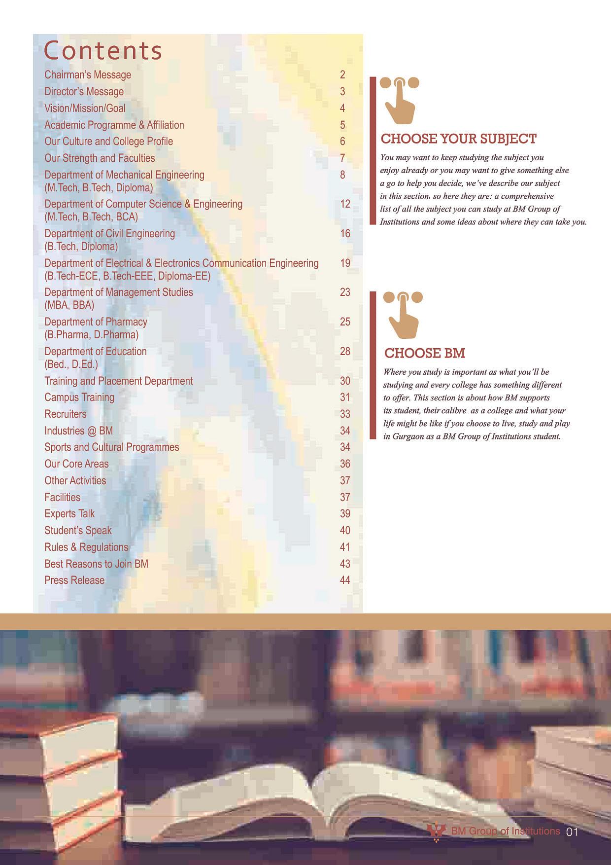 BM Group of Institutions - BMGI, Gurgaon - Admissions ...