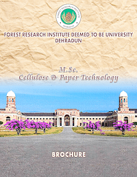 Placement Broucher (M.Sc. Cellulose & Paper Technology)