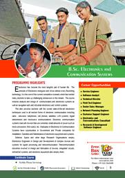 B.Sc. (ECS) Brochure