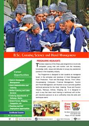 B.Sc. (CSHM) Brochure