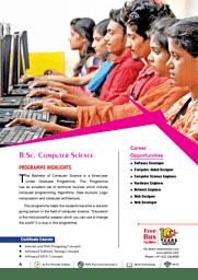 B.Sc.(CS) Brochure