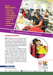 B.Sc.(CDF) Brochure