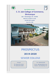 M.Com Brochure