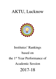 AKTU Institute Ranking Based on Performance