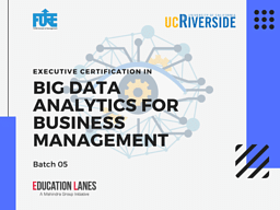 Executive Certificate Program in Big Data Analytics
