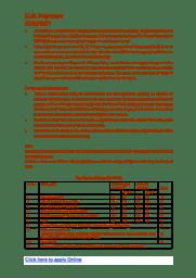 Information Broucher (LLM)
