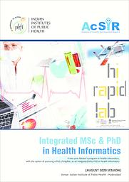 M.Sc + Ph.D Brochure