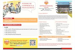 BBA & MBA Brochure