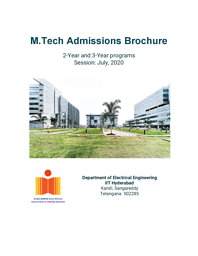 M.Tech EE Brochure