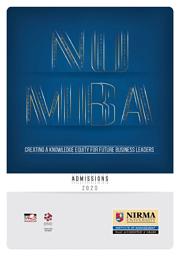 Admission Broucher (MBA)