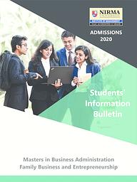 Information Broucher (MBA FBE)