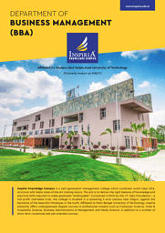 BBA Placement Brochure