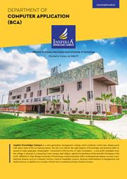 BCA Placement Brochure