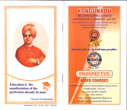 Aided Courses Brochure