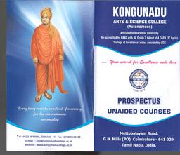 Unaided Courses Brochure