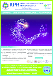 B.Tech Artificial Intelligence and Data Science Brochure