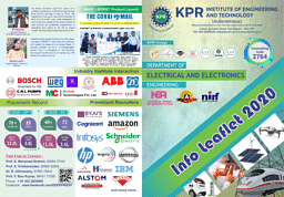B.E. Electrical and Electronics Engineering Brochure