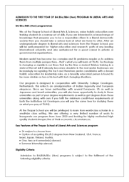 Liberal Arts Brochure