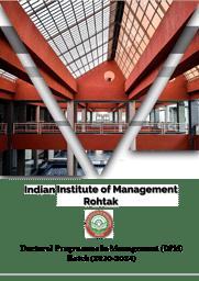 Doctoral program (FPM)2020