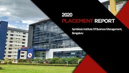 Placement Brochure 2020