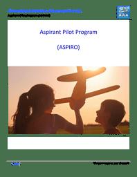 Aspirant Pilot Program Brochure