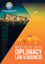 Master of Arts [MA] (Diplomacy