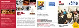 B.Design Brochure
