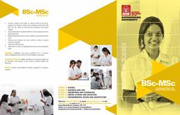 B.Sc-M.Sc Biomedical