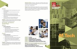 M.Tech Brochure