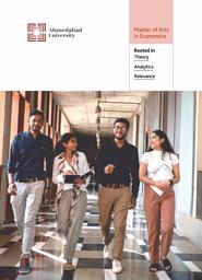 MA Economics Brochure