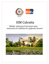 MBA Executive Guidelines for Application
