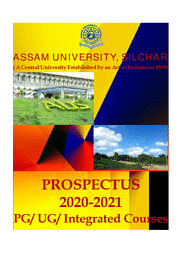 Ph.D Prospectus