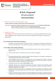 B.Tech Integrated - Information Hangout