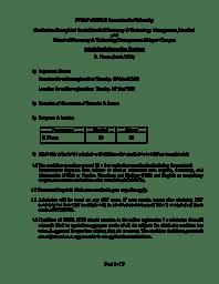B.Pharm - Information Handout