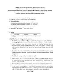 B.Pharm {Lateral} - Information Hangout