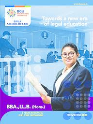 BBA-LLB Brochure