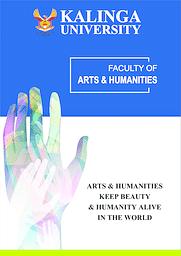 Arts & Humanities Brochure