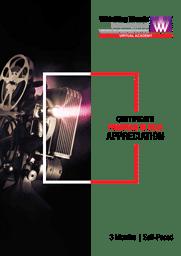WWI Film Appreciation Brochure